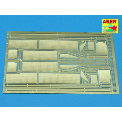 35-A009 Fenders for Panzer IV (for all Panzer IV like models)