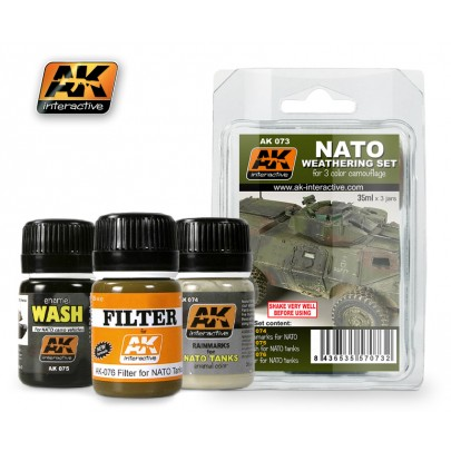 AK073 NATO Weathering Set