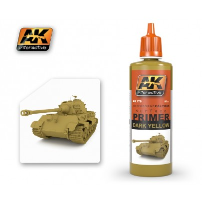 AK176 Dark Yellow Primer 60ml