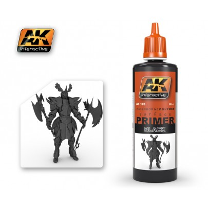 AK178 Black Primer 60ml