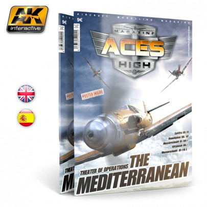 AK2906 ACES HIGH MAGAZINE ISSUE 4. The Mediterranean English Version.