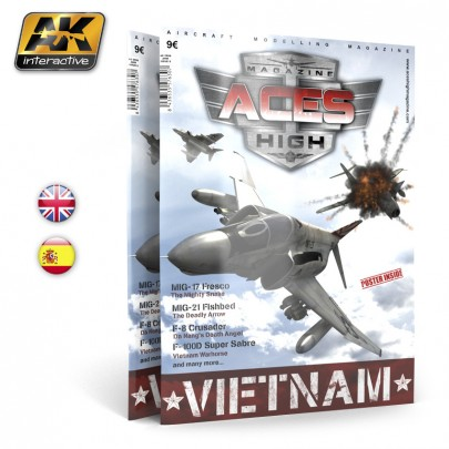 AK2908 ACES HIGH MAGAZINE ISSUE 5. Vietnam - English Version.