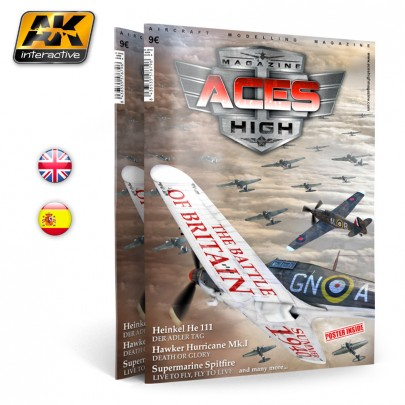 AK2910 ACES HIGH MAGAZINE ISSUE 6. Battle of Britain - English Version.