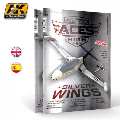 AK2912 ACES HIGH MAGAZINE ISSUE 7. Silver Wings - English Version.