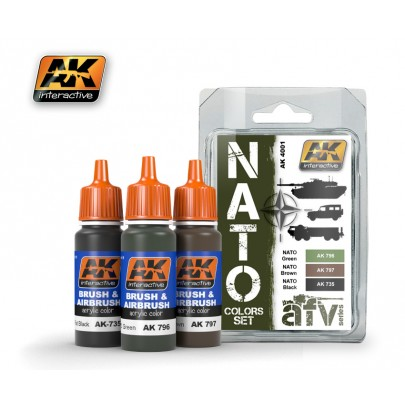 AK4001 NATO Colors Set
