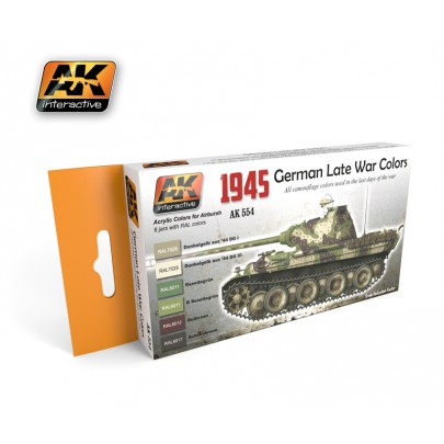 AK554 1945 German Late War Colors Set