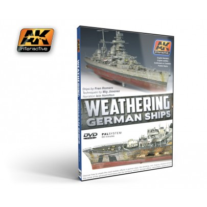 AK650 WEATHERING GERMAN SHIPS (PAL)