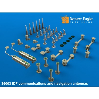 1/35 Desert Eagle Publishing DEP 35-003 IDF Antenna sets & Mounts