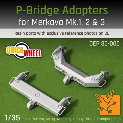 1/35 Desert Eagle Publishing DEP-35005 P-Bridge Adapters for Merkava Mk I, Merkava Mk II & Merkava Mk III