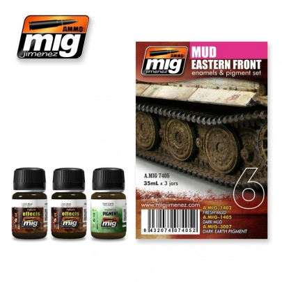A.MIG-7405 EASTER FRONT MUD SET
