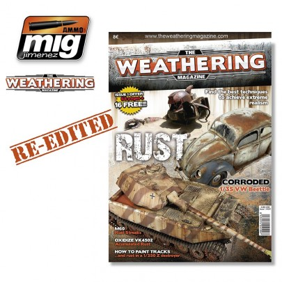 "The Weathering Magazine - Issue 1 ""Rust"" (English version) 3rd edition"