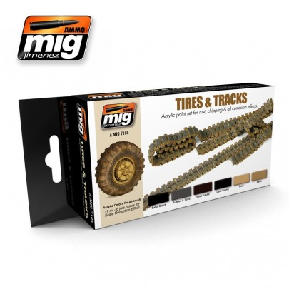 A.MIG-7105 TIRES AND TRACKS