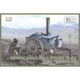 1/35 IBG 35008 GERMAN SMALL FIELD KITCHEN Hf.14