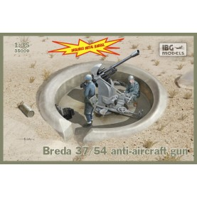 1/35 IBG 35009 Breda 37/54 anti-aircraft gun