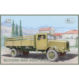1/35 IBG 35013 Bussing-Nag 4500 A late