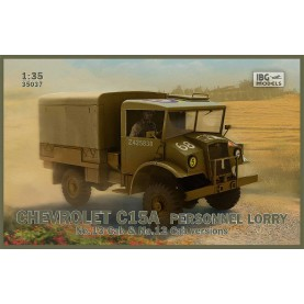 1/35 IBG 35037 Chevrolet C15A Personnel Lorry No.13 Cab & No.12 Cab versions