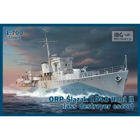 1/700 IBG 70001 ORP Ślązak 1943 Hunt II class destroyer escort
