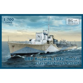 1/700 IBG 70002 ORP Kujawiak 1942 Hunt II class destroyer escort
