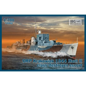 1/700 IBG 70003 ORP Krakowiak 1944 Hunt II class destroyer escort