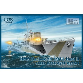 1/700 IBG 70004 HMS Badsworth 1941 Hunt II class destroyer escort