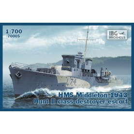 1/700 IBG 70005 HMS Middleton 1943 Hunt II class destroyer escort