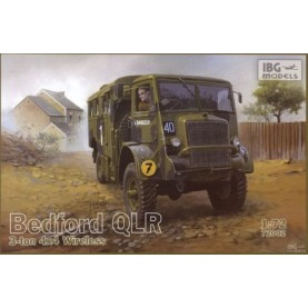 1/72 IBG 72002 Bedford QLR 3 ton 4x4 Wireless