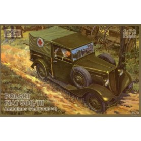 1/72 IBG 72010 Polish Fiat 508/III Ambulance