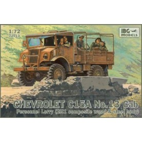 1/72 IBG 72013 Chevrolet C.15A No.13 Cab Personnel Lorry (Truck)