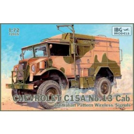 1/72 IBG 72015 Chevrolet C.15A No.13 Cab Australian Pattern Wireless / Signals