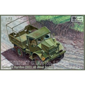 1/72 IBG 72018 Chevrolet C.15A No.11 -Cab General Service ( 2C1 all steel body)