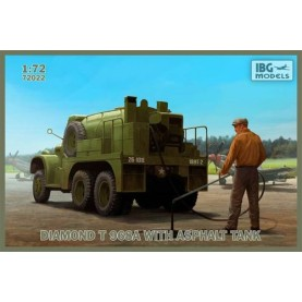 1/72 IBG 72022 WWII U.S. Diamond T 968A with Asphalt Tank