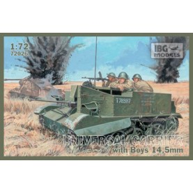 1/72 IBG 72026 UNIVERSAL CARRIER I Mk.I with Boys AT rifle