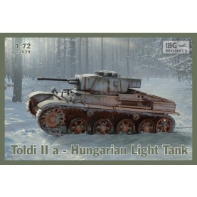 1/72 IBG 72029 Hungarian Light Tank - Toldi IIa