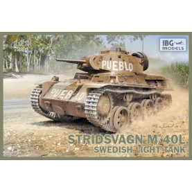 1/72 IBG 72036 Stridsvagn m/40 L Swedish light tank