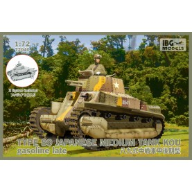 1/72 IBG 72040 TYPE-89 Japanese Medium Tank KOU - gasoline late (2 figures included!)