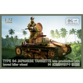 1/72 IBG 72044 TYPE-94 Japanese tankette late production with towed idler wheel