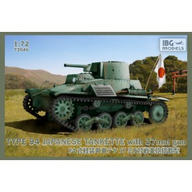 1/72 IBG 72046 TYPE-94 Japanese tankette with 37mm gun