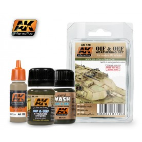 AK120 OIF & OEF - US Vehicles Weathering Set