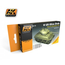 AK131 Olive Drab Modulation Set