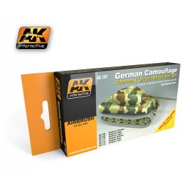 AK167 German Green & Brown Modulation Set