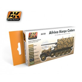 AK550 Afrika Korps Color Set