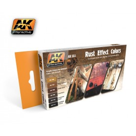 AK551 Rust Effect Colors