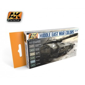 AK564 Middle East War Colors Vol.1