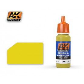AK739 Yellow Acrylic Color