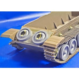 "1/35 BitsKrieg BK-045 MBT ""Centurion"" Resin Wheels with QuickWheel mask & PE parts"