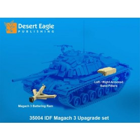 1/35 Desert Eagle Publishing DEP-35004 Battering Ram & Sand filters for Magach 3/5 (M48 A3/5) in IDF Service