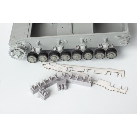"1/35 BitsKrieg BK-068 Dampers for road wheels of Pz.Kpfw IV H (late), J, Jagdpanzer IV/L70, StuG IV, Flakpanzer IV ""Ostwind"", Stu.Pz.IV 'Brummbär', Flakpanzer IV ""Wirbelwind"" - Dragon: 6300, 6397, 6556, 6363, 6550, 6540, 6520, 6460"