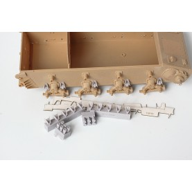 1/35 BitsKrieg BK-069 Dampers for road wheels of Jagdpanzer IV/L70, Pz.IV 'Brummbär' TRISTAR: 35038, 35048 HOBBYBOSS: 80133, 80134