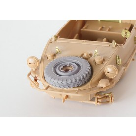 1/35 BitsKrieg BK-058 Kubelwagen & Schwimmwagen Spare Common Wheel - Off-road Tread Type 2