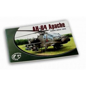 Model Detail Photo Monograph No. 01 - AH-64 Apache McDonnell Douglas / Boeing